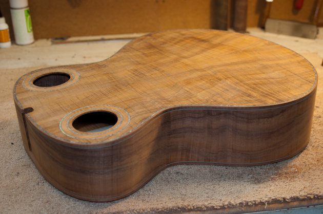 koa guitar body