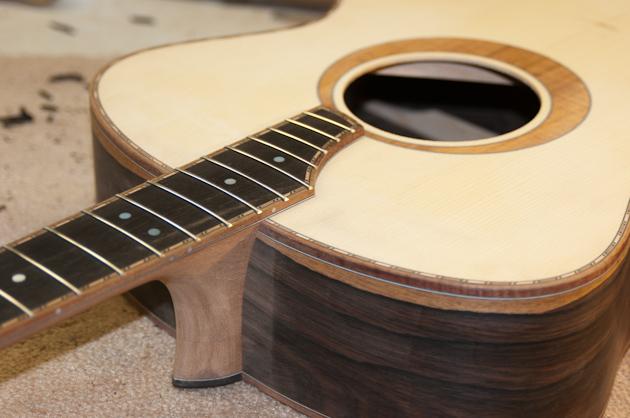 carpathian spruce guitar