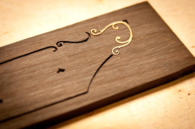 bamboo ukulele inlay