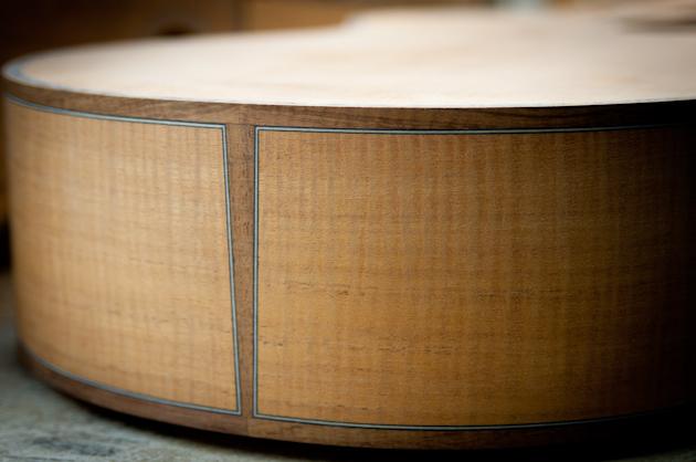 cuban mahogany and koa binding