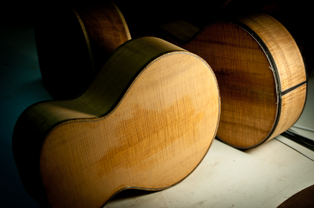 cuban mahogany ukulele and koa ukulele