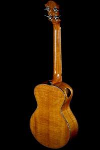 cuban mahogany ukulele back right