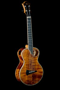 custom muse koa tenor ukulele