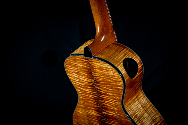 muse tenor ukulele back side half