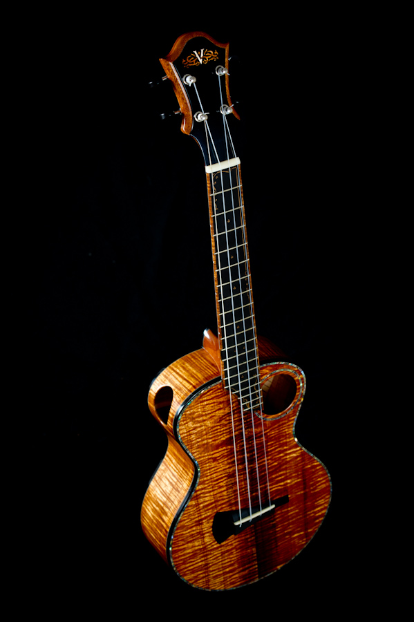 muse tenor ukulele back side top