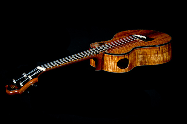 muse tenor ukulele back side