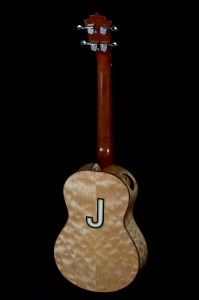 Eddie Vedder's ukulele back
