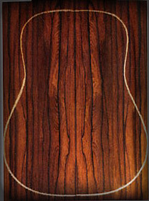 Malaysian Blackwood guitar